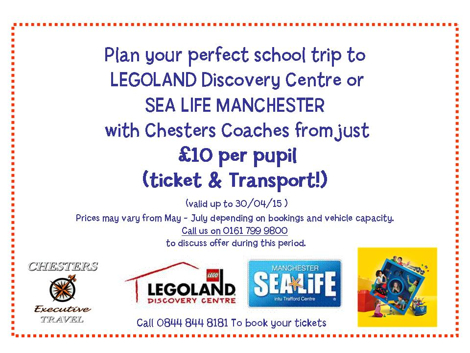 Legoland & Sealife Special Offer